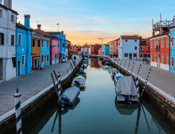Venise, Burano et ses canaux
