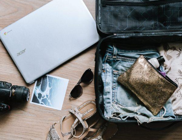 preparation de la valise pour le tour du monde