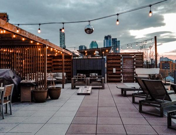 rooftop de mon appartement à New York