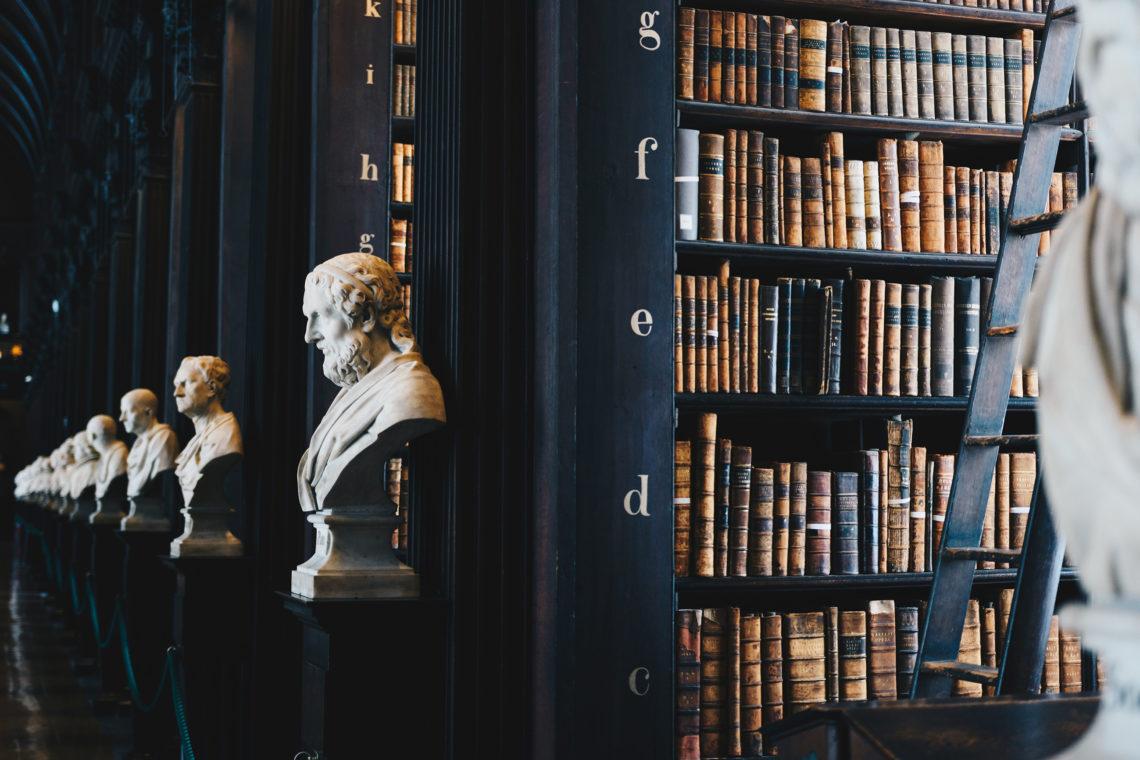 librairie pour étudier à Cardiff en érasmus